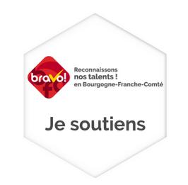 Badge numérique de soutien au projet BRAVO-BFC